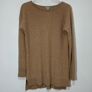 Halogen Cashmere wool Blend sweater High Low Tunic